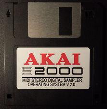 AKAI S2000 Sampler Operating System Boot Disk V 2.0 OS  FASTEST SHIPPING!! NEW