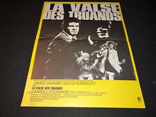 LA VALSE DES TRUANDS james garner   affiche  cinema 1971