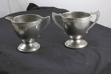Westinghouse Creamer Pitcher and Sugar Bowl Vintage Well Used and Loved