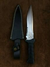 Handmade 5160 Spring Steel RE4 Leon Kennedy's Knife,Bowie knife,Tactical Knife 2