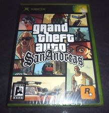 "Grand Theft Auto: San Andreas ""Adult Only"" or ""AO"" Edition (Xbox, 2005) SEE PICS"