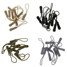 40Pcs Zipper Pulls Cord Rope Ends Lock Zip Clip Buckle For Clothing/Backpack