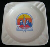 Carowinds NC SC Amusement Park Vintage Made in USA Ashtray