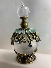 Vintage 1980s Perfume Genie Bottle 9cm