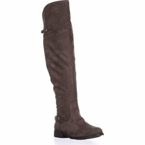 American Rag Womens Adarra Closed Toe Knee High Fashion Boots, Taupe, Size 6.5