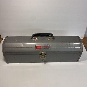 Vintage Sears Craftsman #65161 Tombstone Tool Box Chest Metal