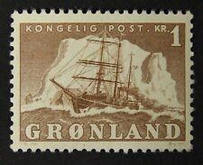 Greenland #36 Mnh. Vf-Xf centering. $17.00 Cv.