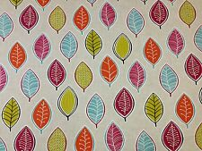 STUDIO G BY CLARKE AND CLARKE COCO SUMMER COTTON FABRIC CURTAIN UPHOLSTERY