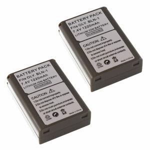 TWO BLN-1 Battery BLN1 For Olympus OM-D E-M5 Mark II E-P5 E-M1 Pen E-P5 Camera