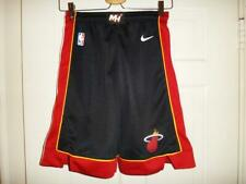 Miami Heat Adidas Youth Crazy Lights Black Shorts Small