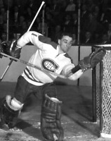 NHL 1957 HOFer Jacques Plante Montreal Canadiens  8 X 10 Photo Picture