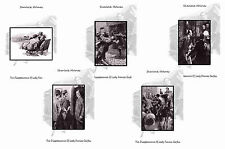 SHERLOCK HOLMES ILLUSTRATIONS- LADY FRANCES CARFAX/THE EMPTY HOUSE- POSTCARD SET