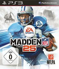 SONY PS3 Madden NFL 25 Football NEU/OVP in Folie US Sport englisch Playstation 3
