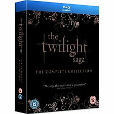 TWILIGHT SAGA NEW MOON ECLIPSE BREAKING DAWN PART 1 & 2 1-5 Blu-ray Box Set  New