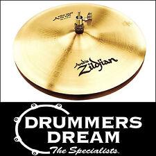 """Zildjian A Series Avedis 14"""" New Beat Hi-Hats Cymbals A0133  Brand New"""