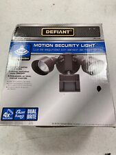 Defiant 110-Degree Bronze Motion Outdoor Security Light  DF-5596-BZ-A