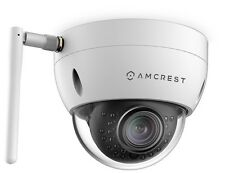 Amcrest ProHD Outdoor 3MP Wi-Fi Vandal Dome IP Cam - IP3M-956W WHT (REFURBISHED)