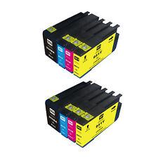 8PK NON-OEM  950XL 951XL Ink Cartridges for HP Officejet Pro 8600 Plus 8610 8640