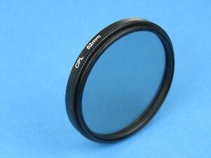 CPL 52mm Polarising Filter For Canon,Panasonic,Samsung, FujiFilm,Nikon,Sony Lens