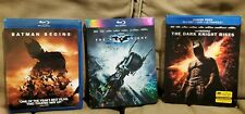 Christopher Nolan's Dark Knight Trilogy Complete Blu-ray Set, Like New
