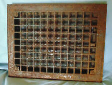 Vintage Floor Wall Vent Cover Metal Grate Register 11 x 14