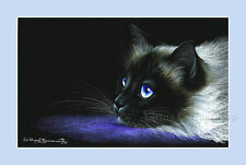 Ragdoll Cat Print Dreaming by Irina Garmashova