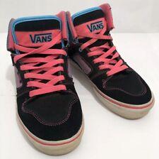 Vans Lace Deck Style Era 95 Black Pink Blue Vintage 1990s DeadStock Rare Skate
