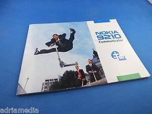 Original Nokia 9210 Communicator Bedienungsanleitung Buch English Manual phone