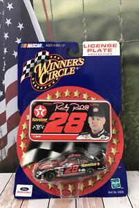 Car 1:64 Diecast NASCAR Ricky Rudd 2000 WC Havoline Yates Ford License Plate