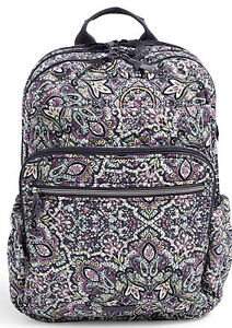 Vera Bradley XL Campus Backpack Bonbon Medallion Quilted 26589 T26 New FREE SHIP