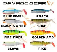 Savage Gear Fishing Lure Cannibal Shad 8cm Soft Jig Head Drop Shot 3Pcs Perch UL
