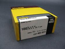 Kodak Tmax 100 4X5 Cut Sheet Film 100 Sheet Box Sealed - Expired