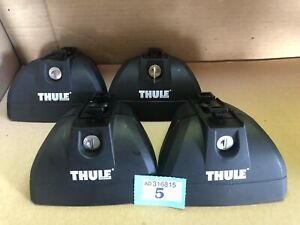 THULE 753 XT LOW PROFILE FOOTPACK FOR THULE RAPID SYSTEM LOAD BARS