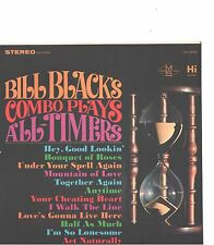 BILL BLACK'S COMBO--HARD COVER-EP + 45--(ALL-TIMERS)---PS--PIC--SLV