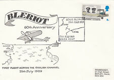 (05368) GB Cover Bleriot 1st Flight Across Channel Dover 25 July 1969