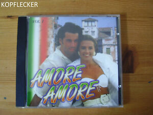 CD Amore, Amore, Vol.1, Toto Cutugno, Milva, Nino D´Angelo, Bino, Pio, CD Album