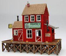 PLANS ONLY - Charlie's Bait & Tackle HO Scale Building Plans Model Railroad