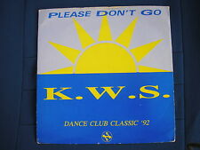 K.W.S - PLEASE DONT GO / GAME BOY - Network Records- AM