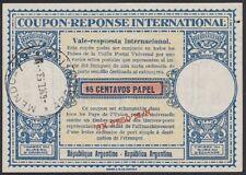 ARGENTINA, 1953. Int'l Reply Coupon 65c/1p, Mendoza