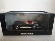 MERCEDES-BENZ 300 SL Roadster 1957 Black 1/43 MINICHAMPS 400 039032