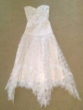 Gunne Sax LACE CORSET DRESS boho Victorian 3 Jessica McClintock wedding festival