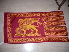 Lotto da 4 pezzi - Bandiera Veneta Serenissima Veneto San Marco dim. 150x80 cm
