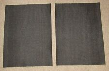 New Speaker Fabric Grill Cloth Black for Klipsch Heresy Speakers PAIR!