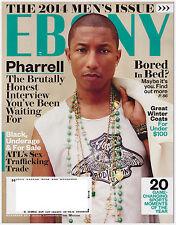 EBONY Magazine November 2014 Pharrell, Men's Issue, Sex Trafficking, U.S. Vets