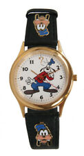 Mint Gold-Tone Goofy Disney 1-OF-A-KIND MISTAKE watch by Pedre!!