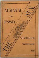 Baltimore Sun Maryland Almanac 1880