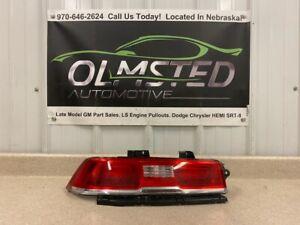 14 15 Chevrolet Camaro SS Driver Tail Light GM Light Lamp LH Lamp 23256981 GM