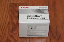 **BRAND NEW** Canon EF-S 60mm f/2.8 AF USM Lens