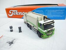 Tekno 1:50 DAF CF Müllwagen GEESINK NETWERK  WITH 2 x CONTAINER N MINT IN BOX