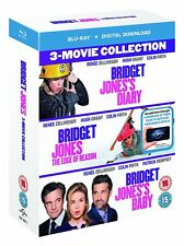 Bridget Jones 3 Movie Collection Blu-ray BOXSET